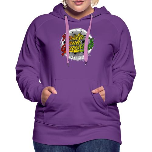 Rasta nuh Gangsta - Women's Premium Hoodie