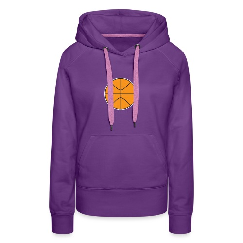 Plain basketball - Women's Premium Hoodie