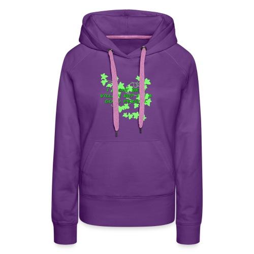 GO GREEN! - Women's Premium Hoodie