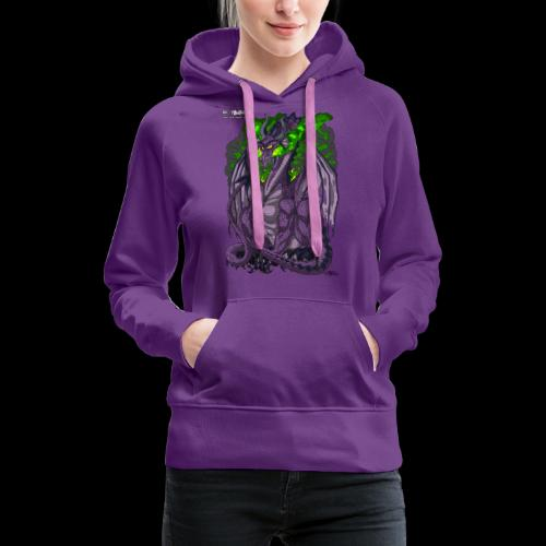 Purple Dragon - Women's Premium Hoodie