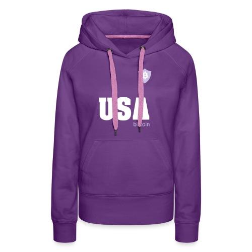 USA Bitcoin - Women's Premium Hoodie