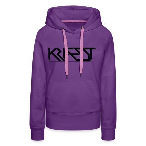 Kraedt Logo (Black) - Women's Premium Hoodie