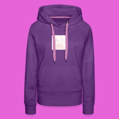 cute flower design - Women's Premium Hoodie