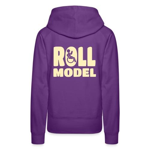 Wheelchair Roll model - Women's Premium Hoodie