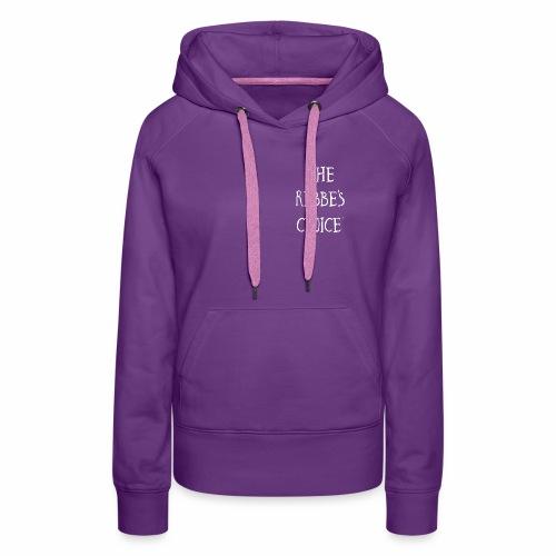 Rebbes Choice Apparel WHT - Women's Premium Hoodie
