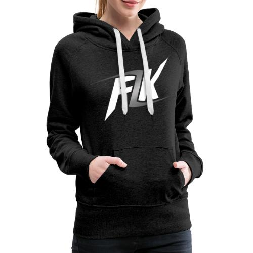 Flash (White) - Women's Premium Hoodie