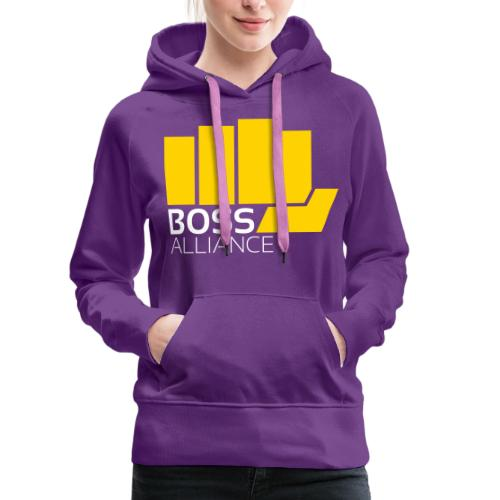 Everyone loves a gold fist - Women's Premium Hoodie