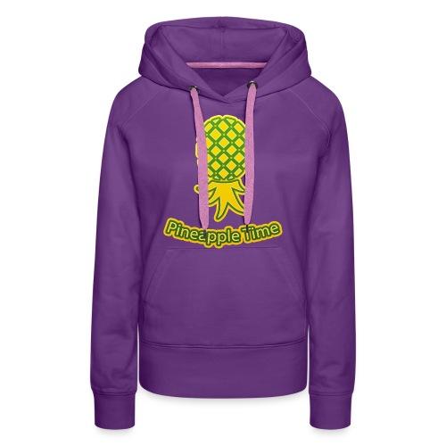 Swingers - Pineapple Time - Transparent Background - Women's Premium Hoodie