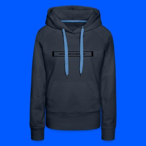Nerf™ War design - Women's Premium Hoodie