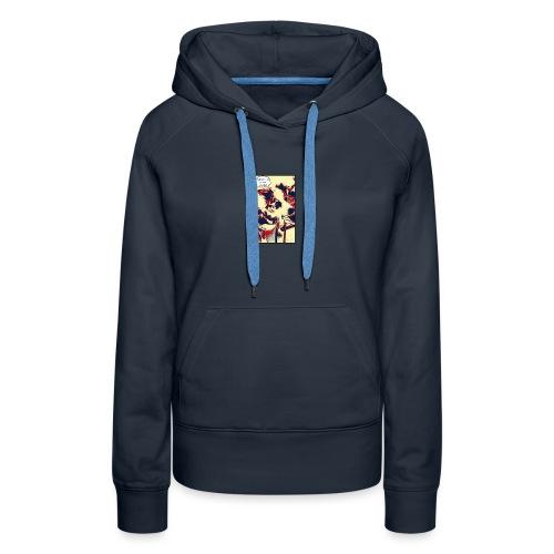 ocean says (shirt) - Women's Premium Hoodie