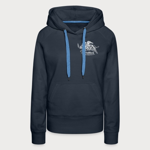 The Forge White Pig 01 - Women's Premium Hoodie