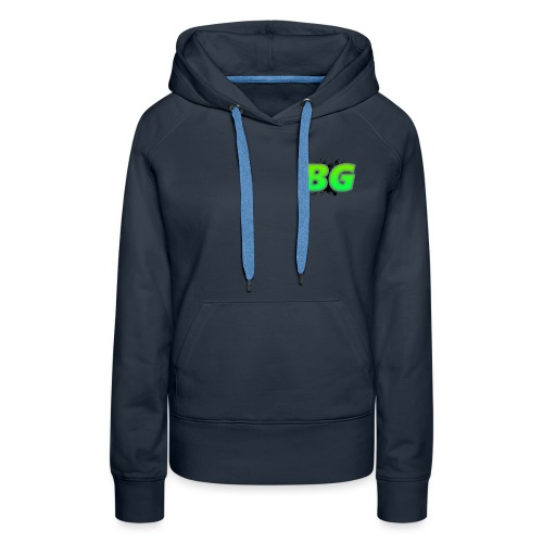 BBGrieve Small Logo (BG) - Women's Premium Hoodie