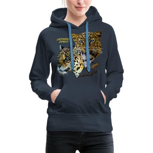 leopards jungle - Women's Premium Hoodie