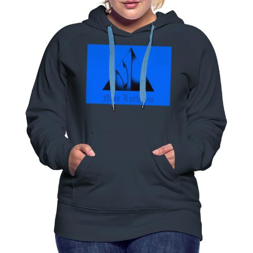 Light Blue Logo - Women's Premium Hoodie
