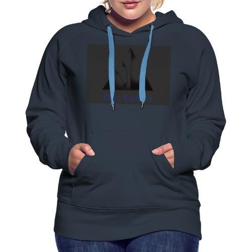 Dark Grey Logo - Women's Premium Hoodie