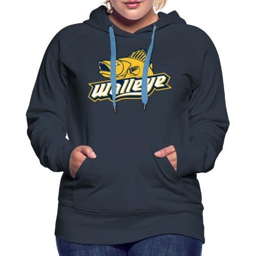 Walleye HC LOGO - Women's Premium Hoodie
