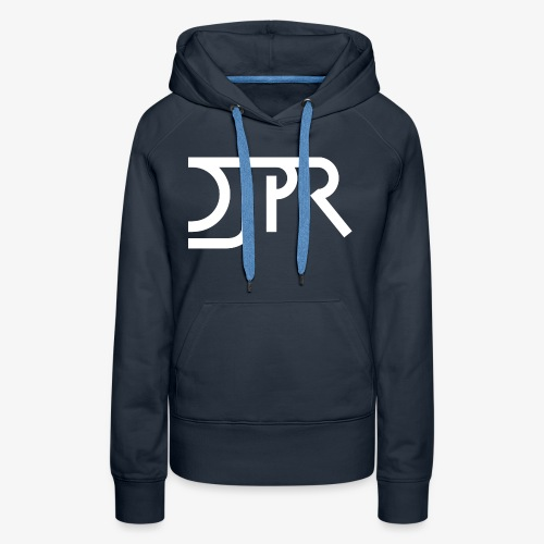 DJPR logo - Women's Premium Hoodie