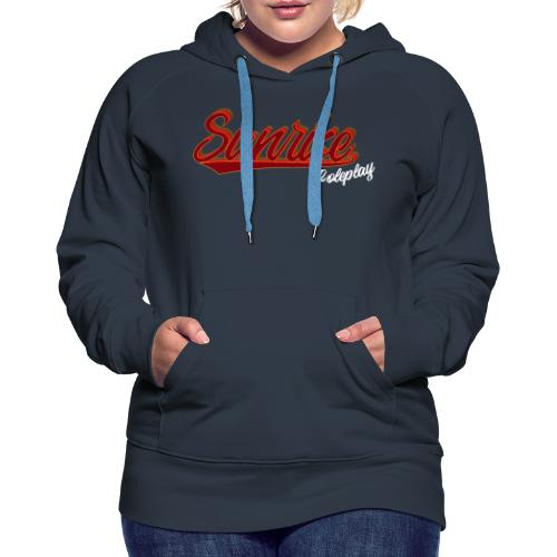 Sunrise Roleplay Logo (White) - Women's Premium Hoodie