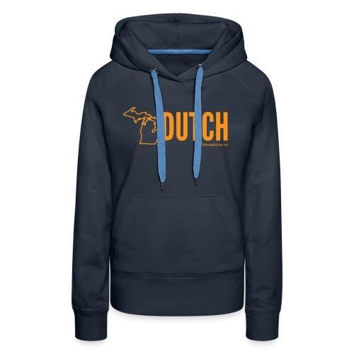 Michigan Dutch (orange) - Women's Premium Hoodie