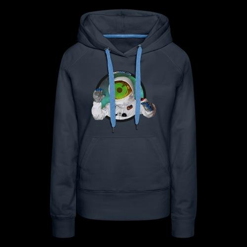 Spaceboy Music Logo - Women's Premium Hoodie