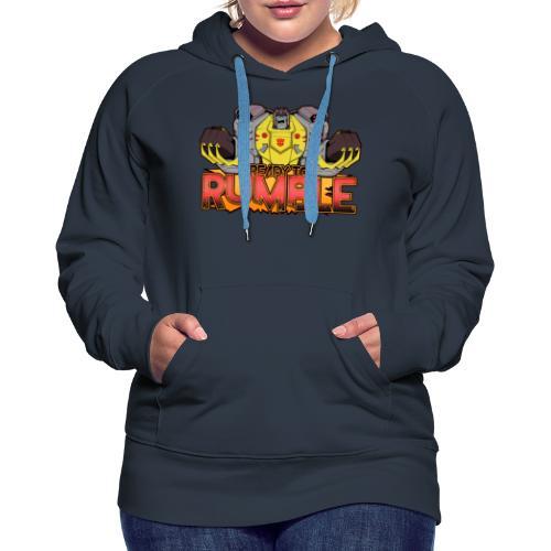 Transformers Cyberverse Grimlock Ready to Rumble - Women's Premium Hoodie