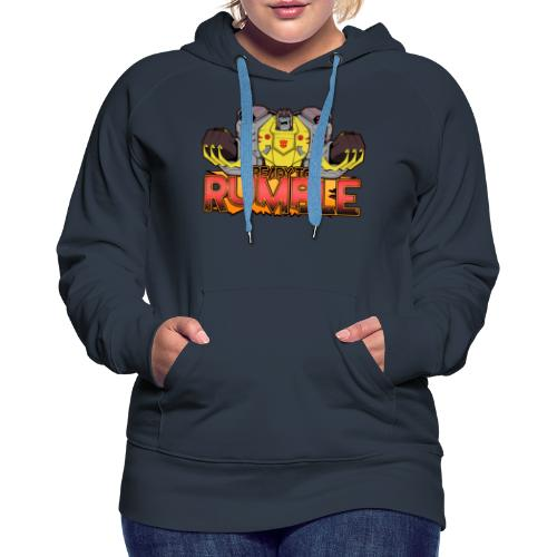 Transformers Cyberverse Grimlock Ready to Rumble - Women's Premium Hoodie