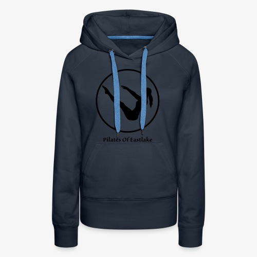 Pilates Of Eastlake Logo - Women's Premium Hoodie