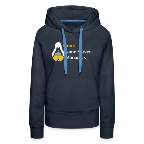 Linux Game Server Managers - Women's Premium Hoodie