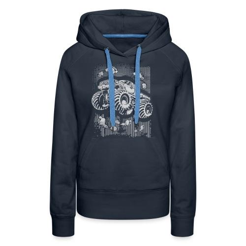Monster Big Foot Grunge Baby & Toddler Shirts - Women's Premium Hoodie