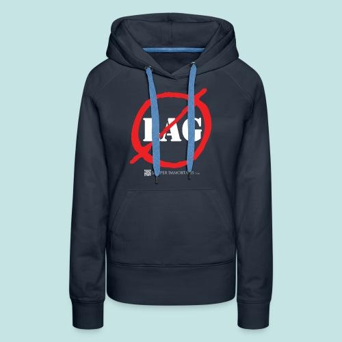 No Lag (white) - Women's Premium Hoodie