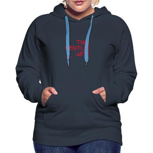 Jiu-Jitsu - The Gentle Art - Women's Premium Hoodie