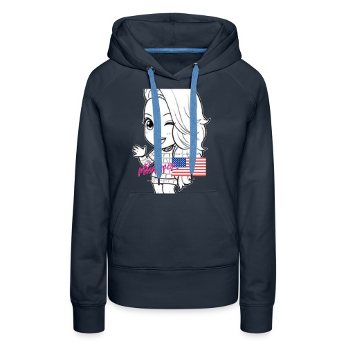 Liberty by Miss Lopez - Women's Premium Hoodie