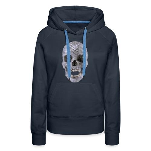 diamond_skull_1 - Women's Premium Hoodie
