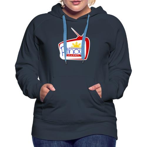 Pinoy Channel Logo - Women's Premium Hoodie