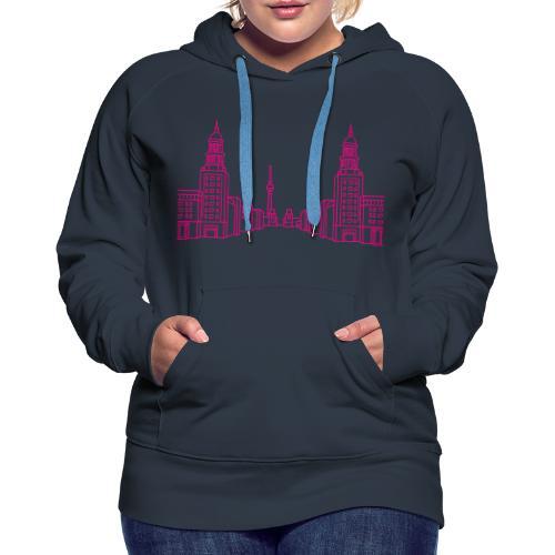 Frankfurter Tor Berlin - Women's Premium Hoodie
