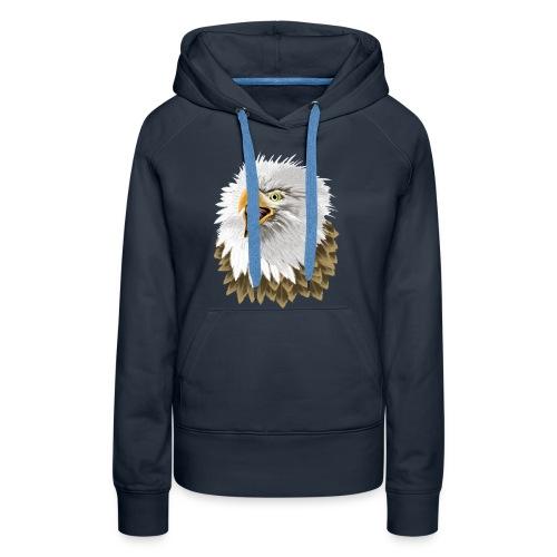 Big, Bold Eagle - Women's Premium Hoodie