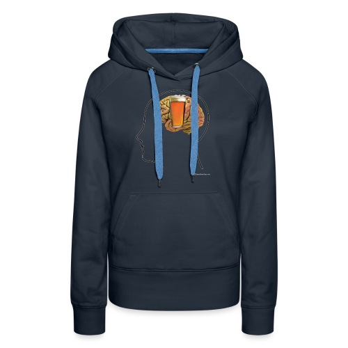Great Minds Drink Alike - Women's Premium Hoodie