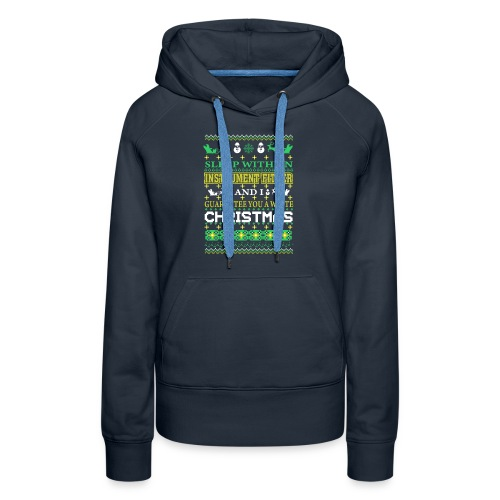 UGLY SWEATER INSTRUMENT FITTER XMAS T-SHIRTS - Women's Premium Hoodie
