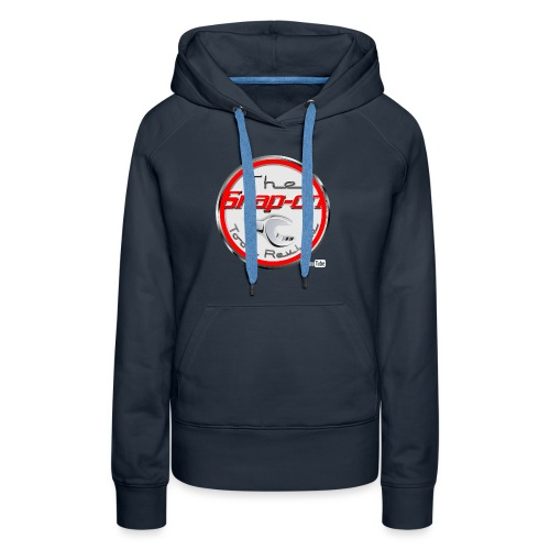red logo white youtube - Women's Premium Hoodie