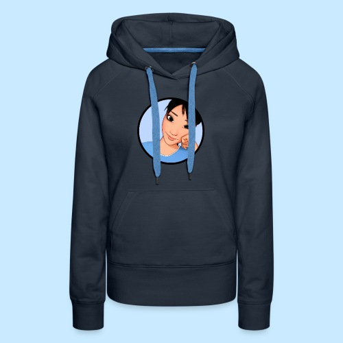 Ami Cheek Circle (anime) - Women's Premium Hoodie