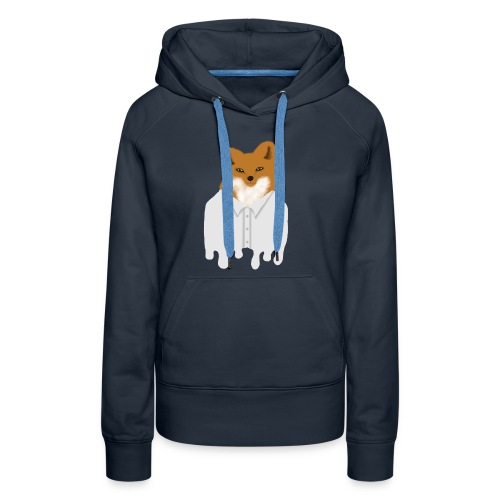 Fancy Fox - Women's Premium Hoodie