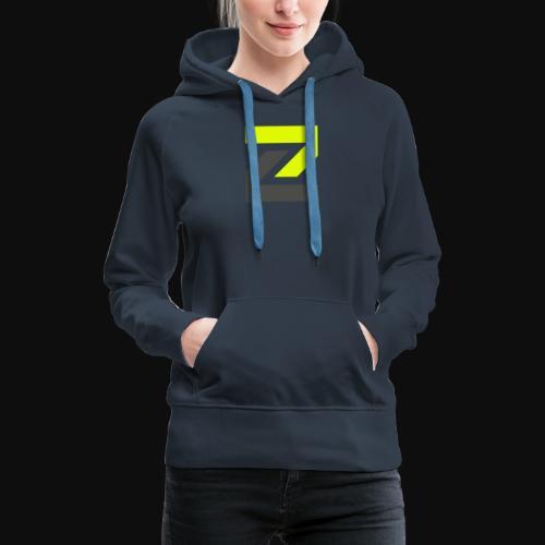 team Zecro official logo - Women's Premium Hoodie