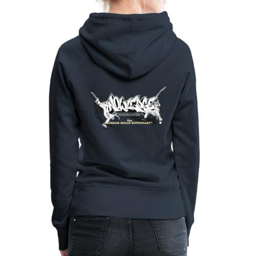 KNOWLEDGE - the urban skillz dictionary - promo sh - Women's Premium Hoodie