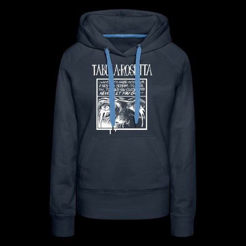 Tabula Rosetta--...But I Know You Couldn't See Me - Women's Premium Hoodie