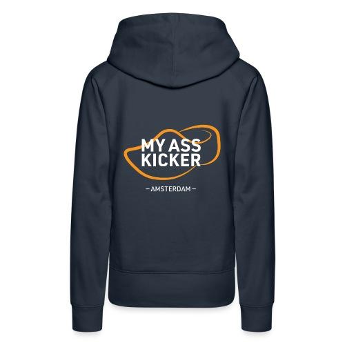 MY ASS KICKER - Women's Premium Hoodie