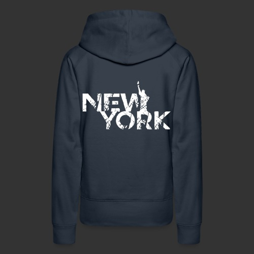 New York (Flexi Print) - Women's Premium Hoodie
