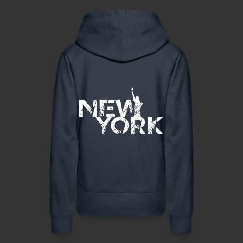 New York (Flexi Print) - Women's Premium Hoodie
