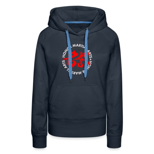 Honor Martial Arts Kanji Design Light Shirts - Women's Premium Hoodie