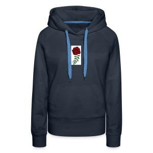 Rose Design - Women's Premium Hoodie