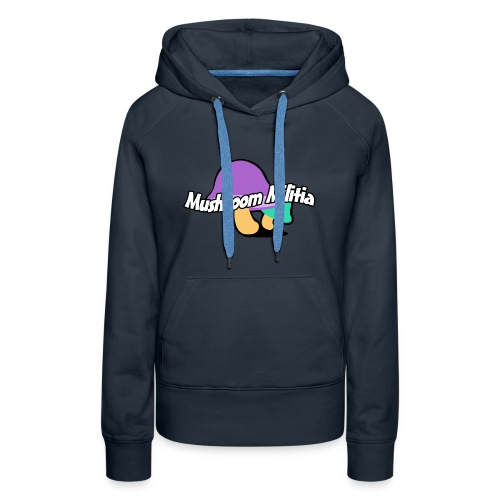 MM text logo - Women's Premium Hoodie